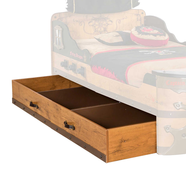 Pirate Storage and Trundle Bed