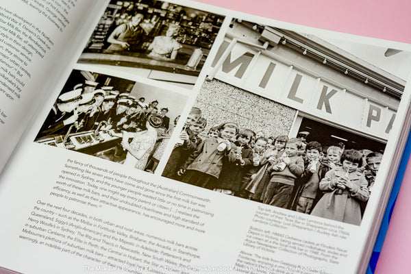 The MILK BARS Book by Eamon Donnelly first edition is now SOLD OUT