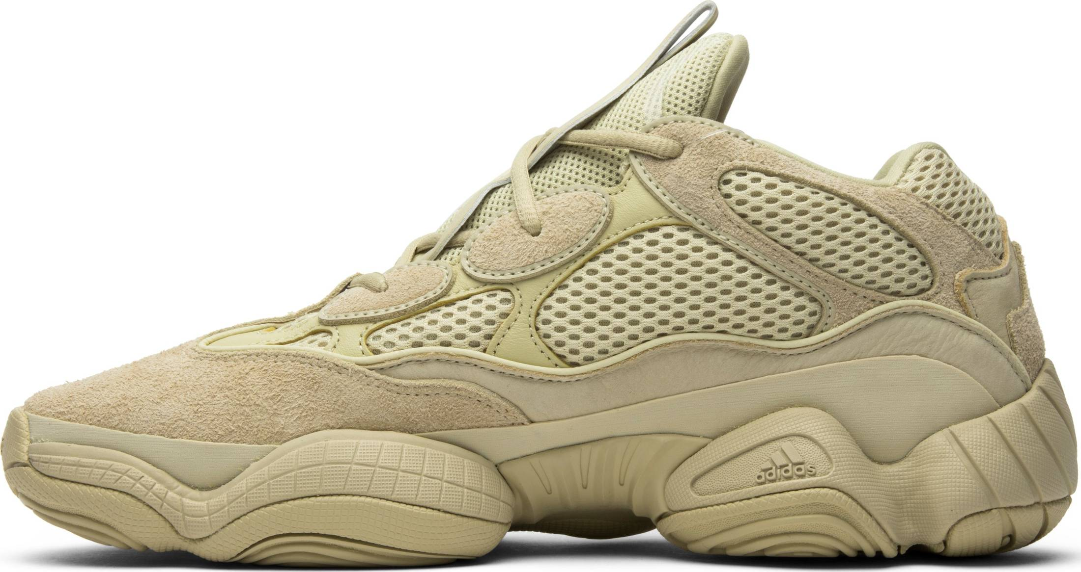 Supermoon Yellow - adidas Yeezy 500 Desert Rat – Elysium Streetwear 42862265d