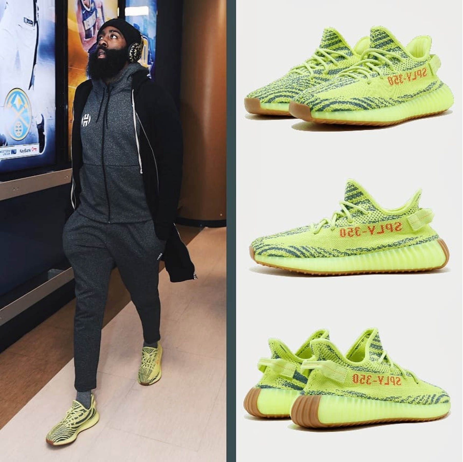 pretty nice 65315 252a1 Semi Frozen Yellow - adidas Originals Yeezy Boost 350 V2