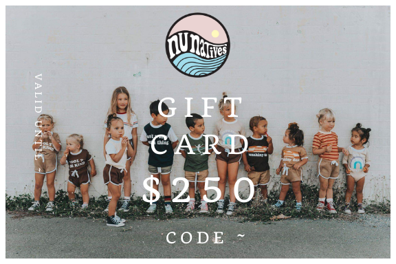 NU Gift Card ~ $50-$250