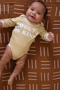 COOL TO BE KiND romper ~ sand