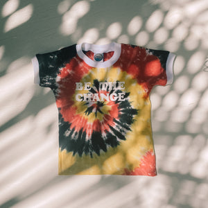 BE THE CHANGE tee ~ Aboriginal Colours
