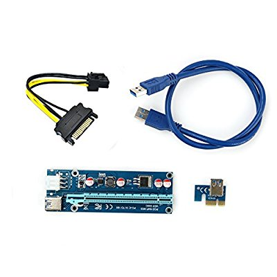 6 pin Pci-e 16x to 1x Riser