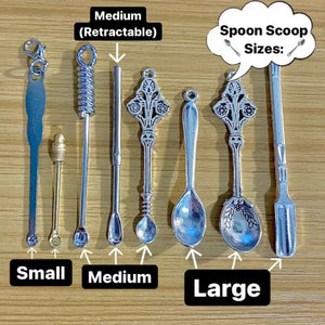 Spoon Scoop Size Examples