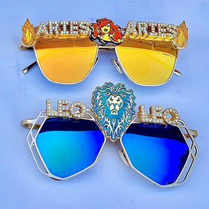 Astrology Gifts Sunglasses ! Zodiac Sign Gifts-Rave Fashion Goddess