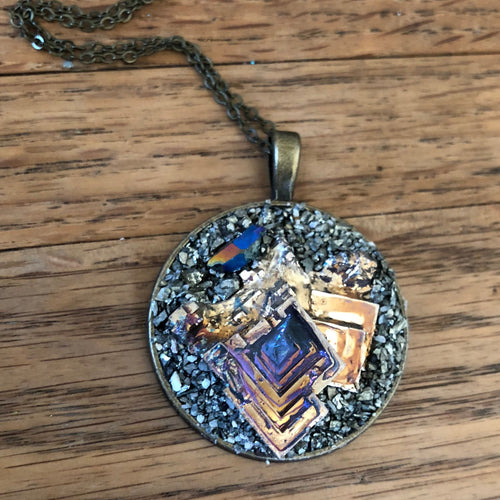Bismuth Necklace-Rave Fashion Goddess