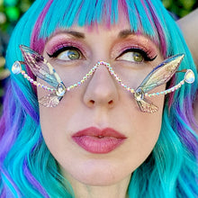 Butterfly Sunglasses-Rave Fashion Goddess