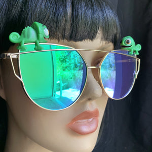 Chameleon Sunglasses-Rave Fashion Goddess