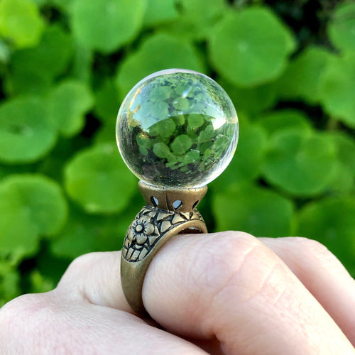 Crystal Ball Ring-Rave Fashion Goddess