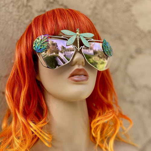 Dragonfly Sunglasses-Rave Fashion Goddess
