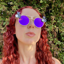 Goth Sunglasses-Rave Fashion Goddess
