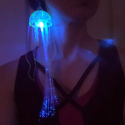 LED Earrings-Rave Fashion Goddess