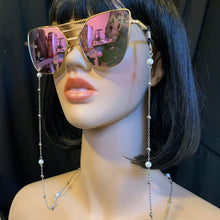Pearl Sunglasses Chain-Rave Fashion Goddess