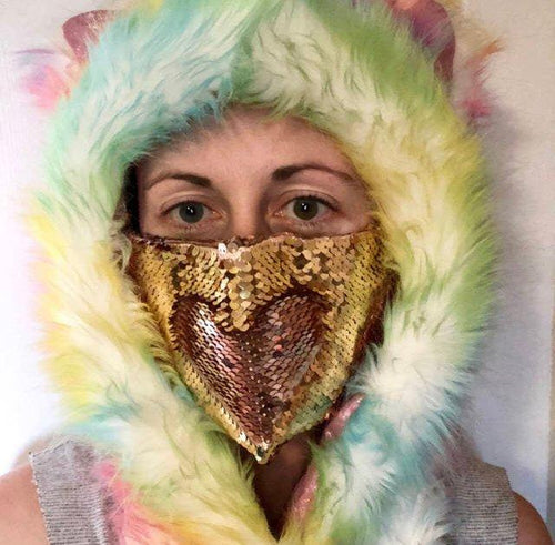 Rave Dust Mask-Rave Fashion Goddess