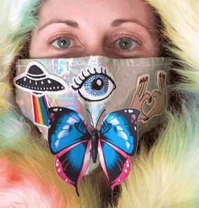 Rave Face Mask-Rave Fashion Goddess