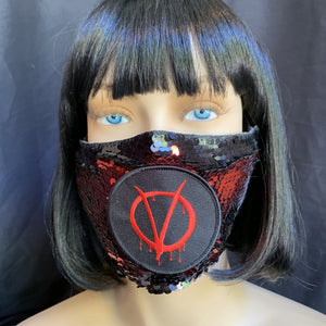 Rave Mask-Rave Fashion Goddess