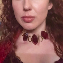 Red Woman GOT Necklace-Rave Fashion Goddess
