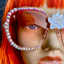 Rhinestone Sunglasses-Rave Fashion Goddess