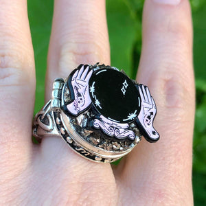 Ring With Compartment-Rave Fashion Goddess