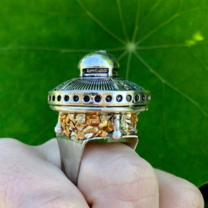 Ring With Hidden Compartment-Rave Fashion Goddess