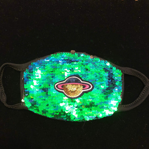 Sequin Rave Mask-Rave Fashion Goddess