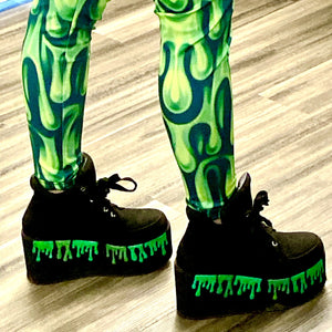 Slime Shoes-Rave Fashion Goddess