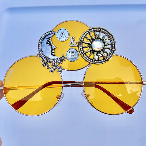 Sun and Moon - Above and Beyond Sunglasses-Rave Fashion Goddess