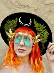 Unicorn Sunglasses - Winged Pegasus-Rave Fashion Goddess