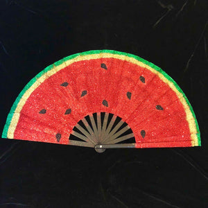Watermelon Fan-Rave Fashion Goddess