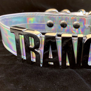Word Choker - Trance-Rave Fashion Goddess