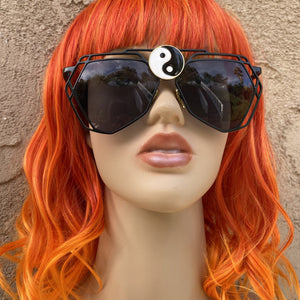Yin Yang Sunglasses-Rave Fashion Goddess
