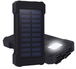 Portable Solar Power Bank Charger (10,000mAh)