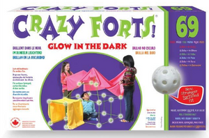 Crazy Forts Glow in the Dark
