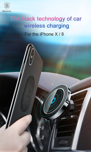 Magnetic Wireless Car Charger
