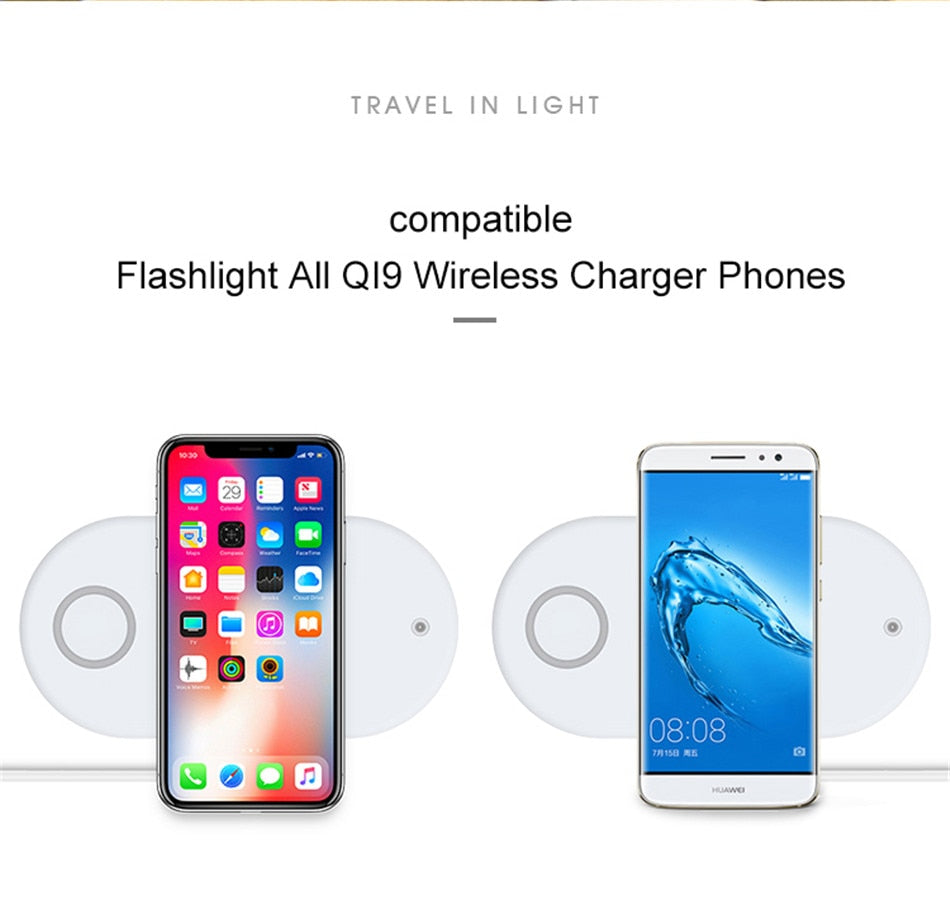 3-in-1 Fast Wireless Charger