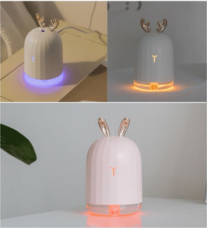 Ultrasonic Air Humidifier &  Aroma Oil Diffuser
