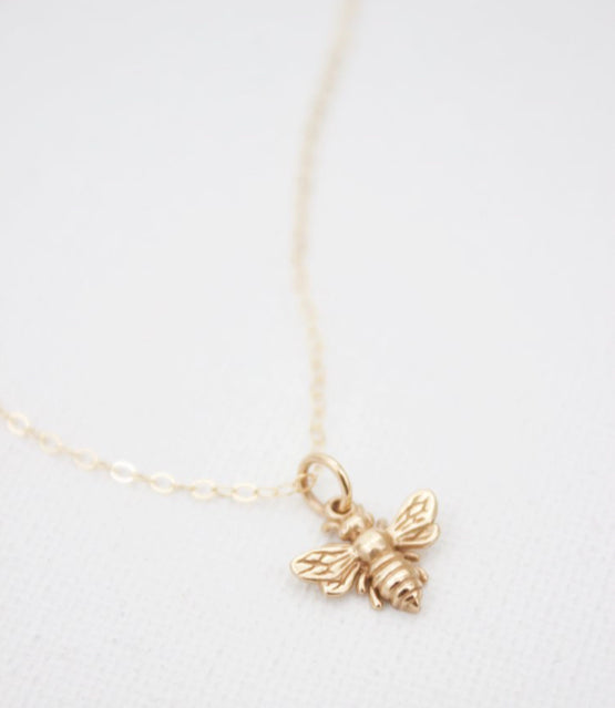 Bee Charm Necklace