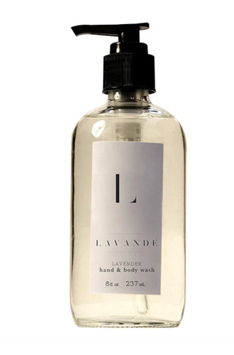 Lavender body wash 8oz