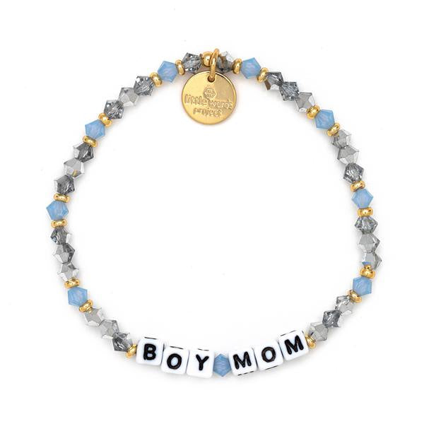 Boy Mom Beaded Bracelet