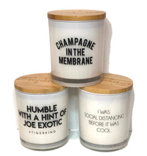 Champagne in the Membrane Soy Candle