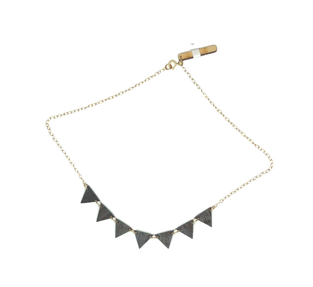 Ryan Porter Geometric Triangle Necklace