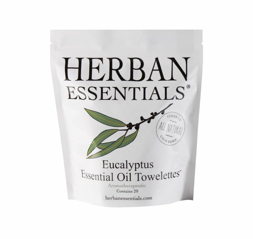 Herban Essentials - Essential Oil Towelettes
