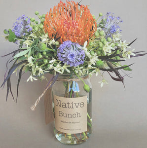 Native Flower posy by Native Bunch Baubles and Lace