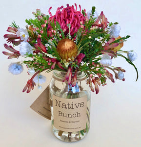 Native flower posy by Native Bunch bells and whistles