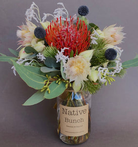 Native Bunch Weekly posy Touch of Celtic