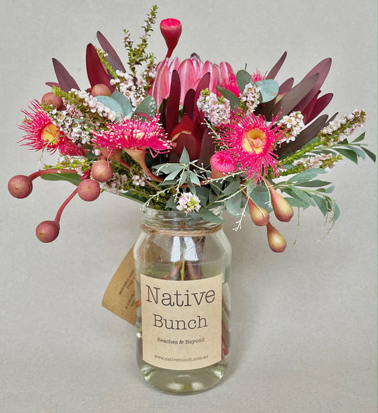 Native flower posy by Native Bunch feel warm fuzzy