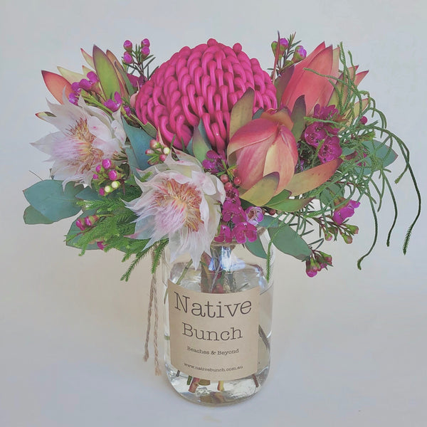 Native flower posy by Native Bunch Looking Glam