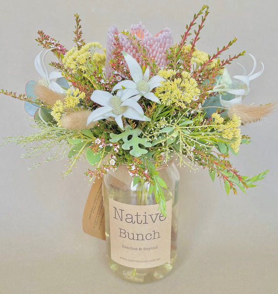 Native flower posy by Native Bunch mellow summers day