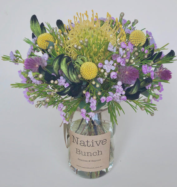 Native flower posy by Native Bunch midnight sky